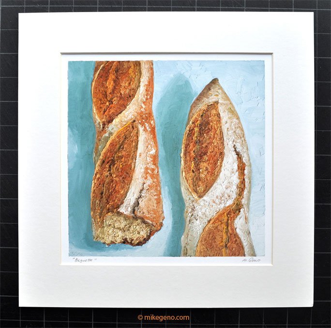 Bread Painting Archival Print