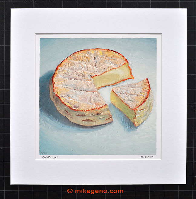 Cheese Portrait Archival Print