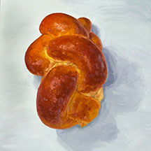 Bread Paintings by Mike Geno