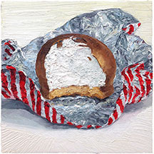 Foodie paintings by Mike Geno